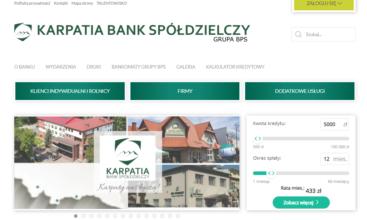 Wejdź na stronę www.karpatiabs.pl i wybierz Zaloguj się